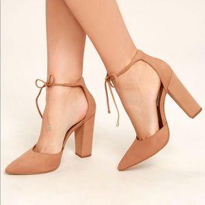 Steve Madden nubuck heels